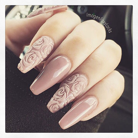 Nails Nail Manicure Nude