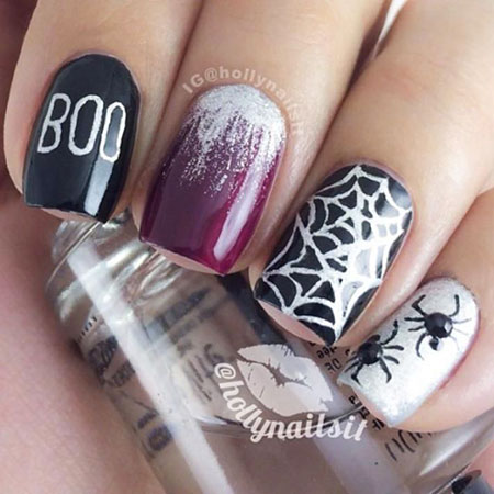 Nail Halloween Polish Designs