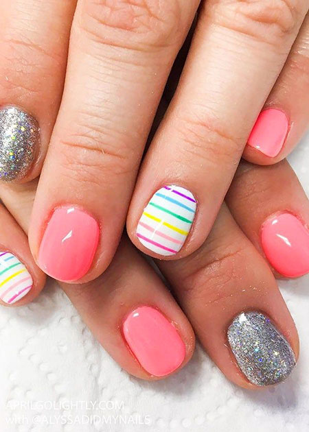 Nail Nails Summer Top
