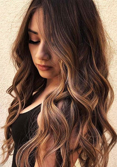 Hair Balayage Brown Year