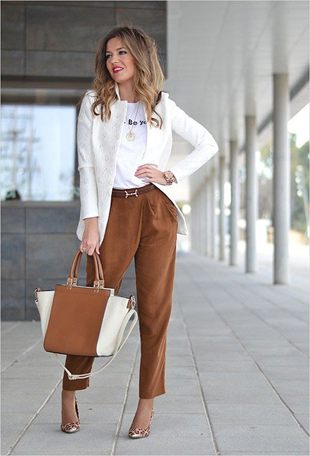 Style Casual Business Women
