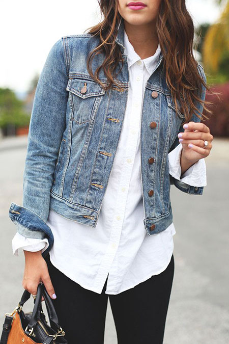 Jacket Jeans Trucker Denim