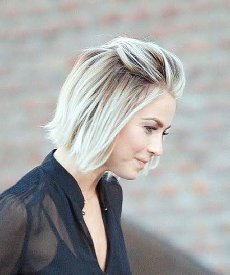 Short Blonde Hair Bob