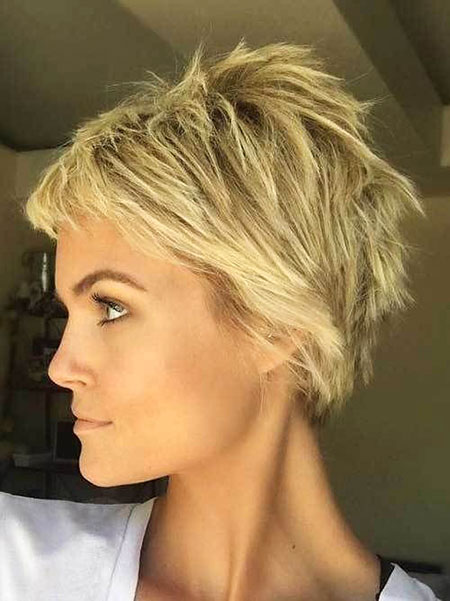 Short Hair Pixie Layered
