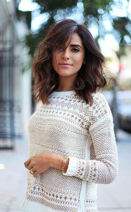 Hair Messy Long Brunette