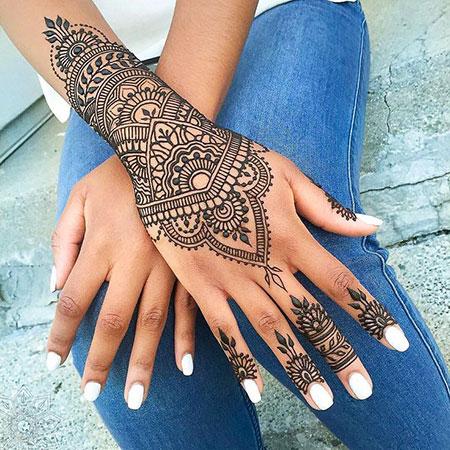 Henna Mehndi Hand Designs