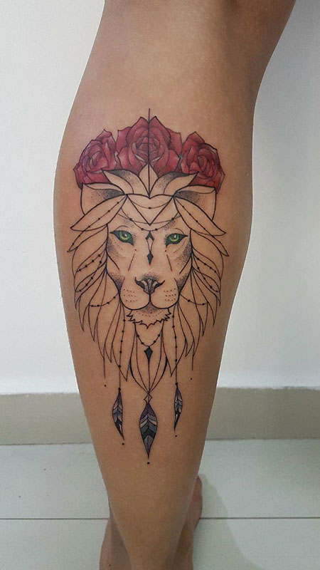 Tattoo Lion Tattoos Idea