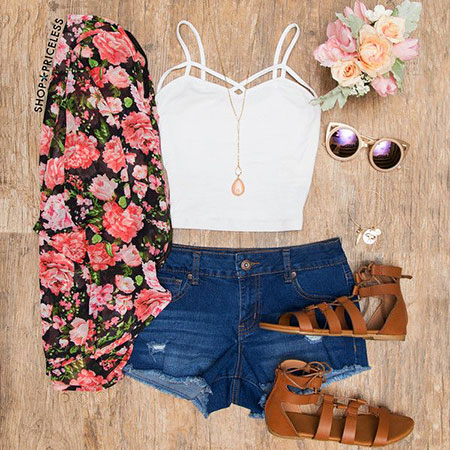 Summer Outfits Fashion Teen