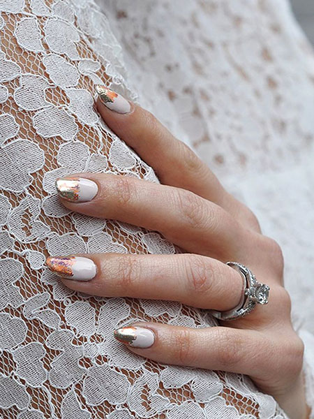 Nails Nail Wedding Manicure