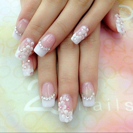 Cute Bridal Nails, Wedding Nails Nail Bridal