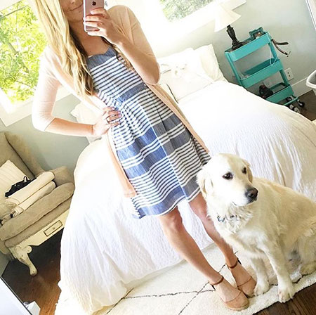 Cute Spring Outfit, Spring Retriever Summer Pup