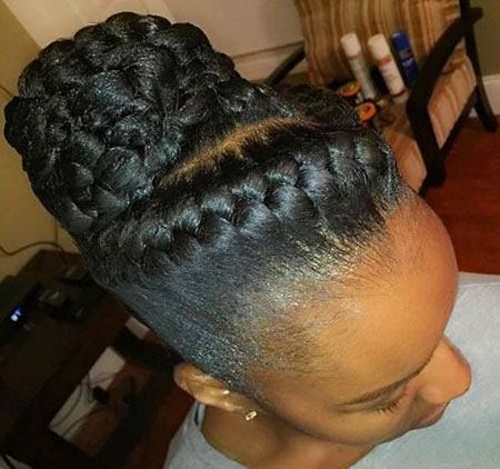 Goddess Braids Updo, Updo Braids Goddess Hair