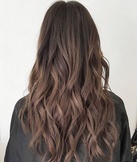 Long Brown Hair, Brown Hair Balayage Ash