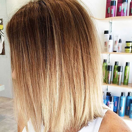 Ombre Short Hair, Color Hair Blonde Ombre