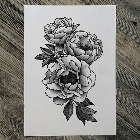 Flower Tattoo Design, Tattoo Flower Tattoos White