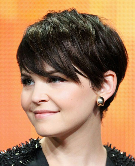 Round Face Short Thin Hair, Short Pixie Hair Face