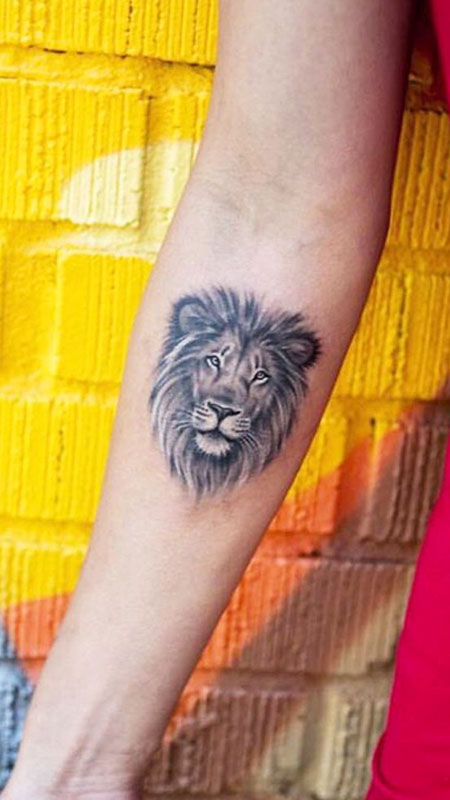 Small Lion Tattoo, Lion Tattoo Tattoos Small