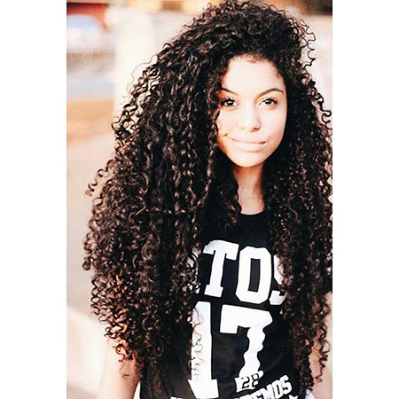 Curly Hair Long Goals