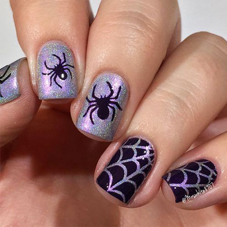 Nail Art Halloween Designs