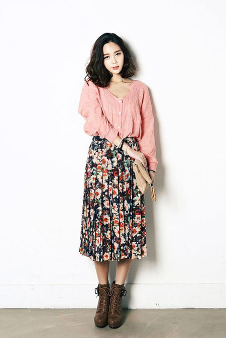 Maxi Fashion Korean Floweral