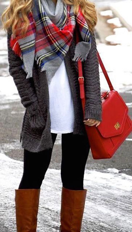 Scarf Winter Blanket Plaid