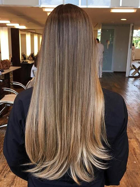 Hair Balayage Highlights Ash