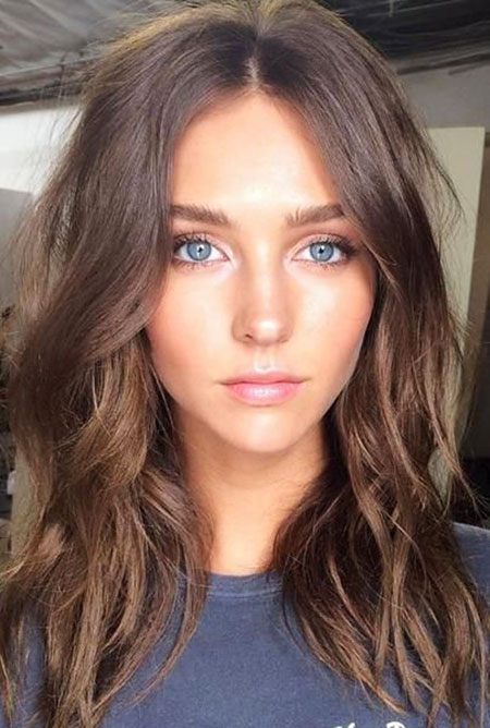 Hair Brown Color Light