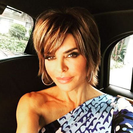 Hair Lisa Rinna Short