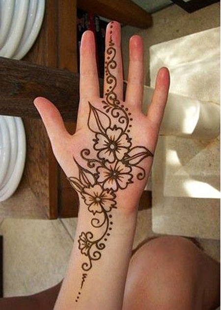 Henna Mehndi Simple Designs