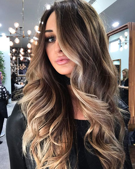 Hair Balayage Texture Paint