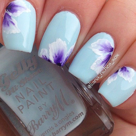 Nail Flower Nails Designs