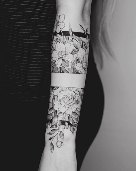 Flower Tattoos Black And White Flowers Healthy