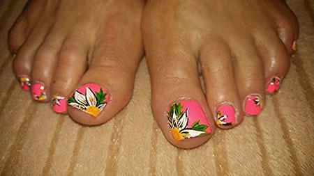 Nail Art Toe Designs