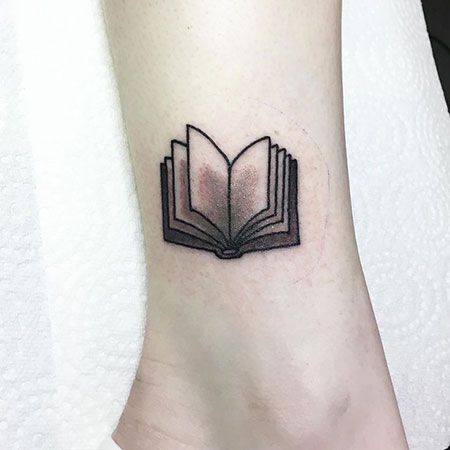 Tattoo Book Ankle Grey