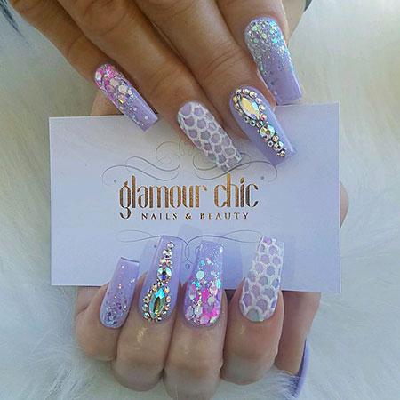 Nails Nail Gold Cute