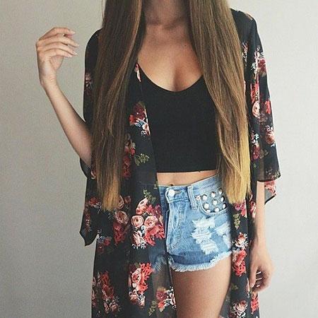 Summer Kimono Cute Fashion