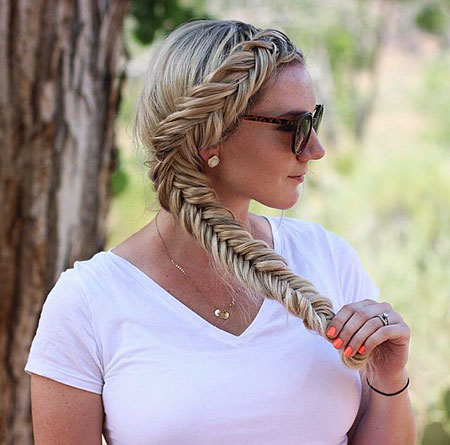 Hair Fishtail Braid Hairtyles