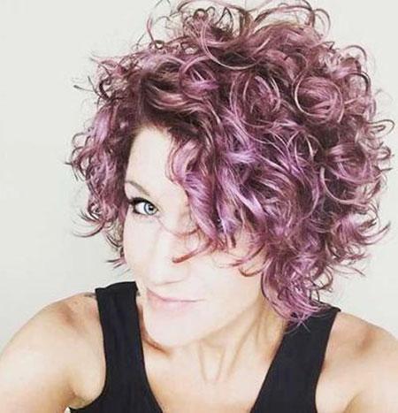 Curly Hair Short Women