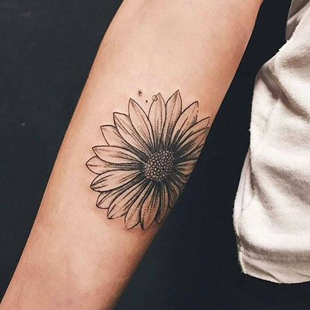 Tattoo Tattoos Flower Sunflower
