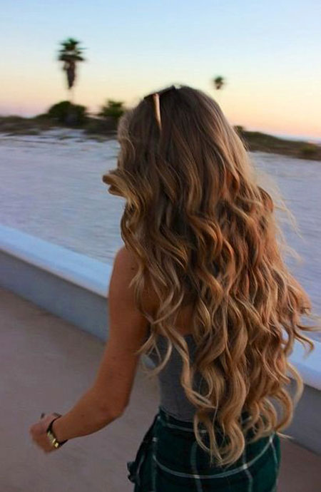 Hair Long Balayage Wavy