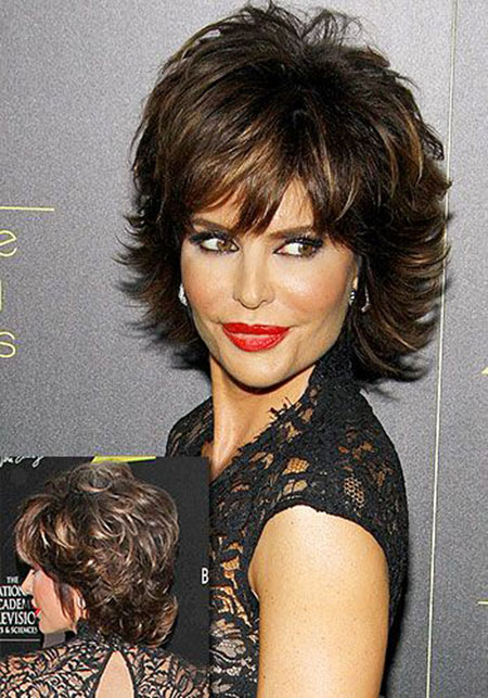 Lisa Rinna Hairtyles Shag