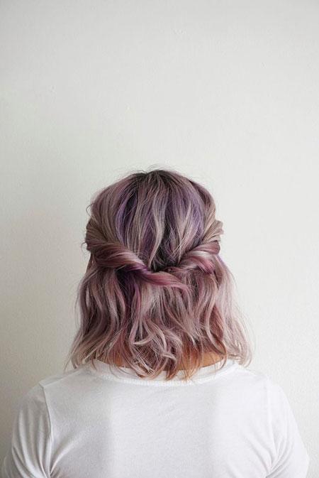 Hair Hairtyles Half Length