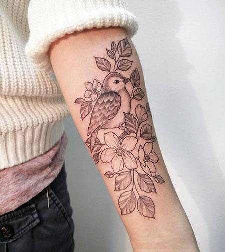 Tattoo Tattoos Bird Forearm