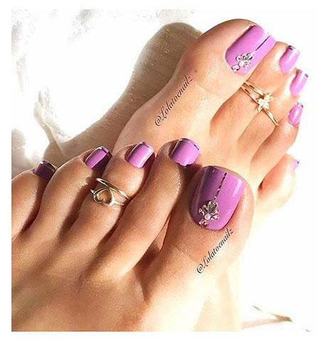 Nail Toe Designs Art