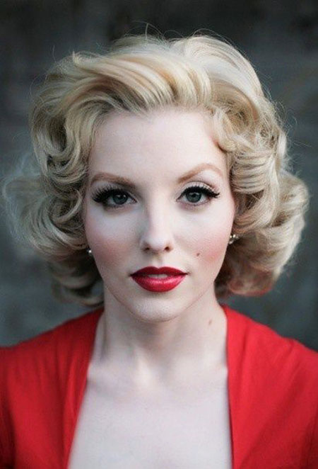 Hairtyles Vintage Hair Marilyn