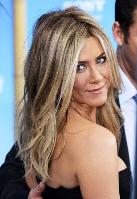 Blonde Highlights on Light Brown Hair, Hair Blonde Highlights Aniston