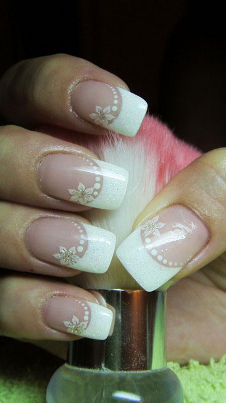 French Nail for Brides, Nail Wedding Nails Manicure