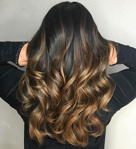 Dark Brown Ombre Hair Color, Hair Brown Balayage Highlights