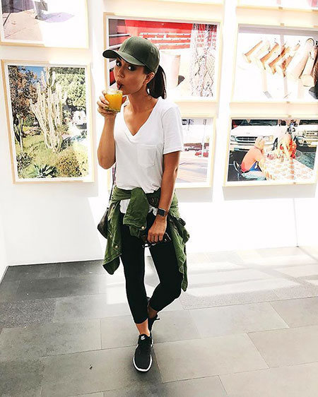 Casual Sporty Outfit, Summer Casual Style Spring