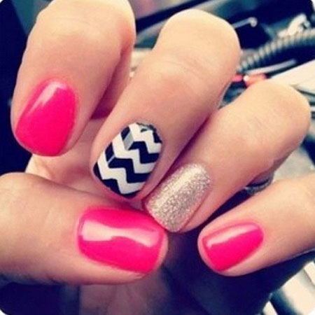 Short Nails Cute Nail Design, Nail Easy Nails Art